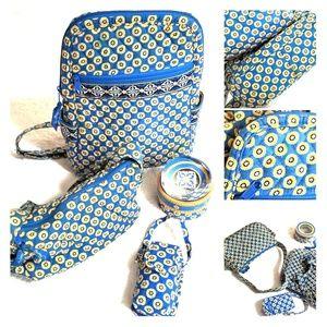 A girls starter kit - backpack purse paperweight